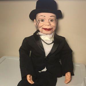 Vintage Ventriloquist Doll Charlie McCarthy dummy